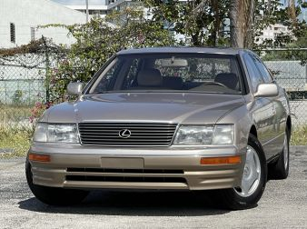 1997 LEXUS LS400 COACH EDITION