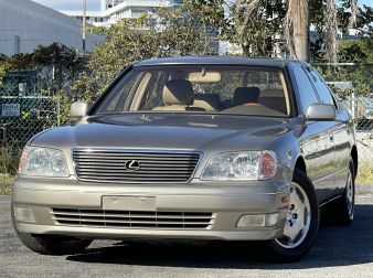 2000 LEXUS LS400 PLATINUM EDITION