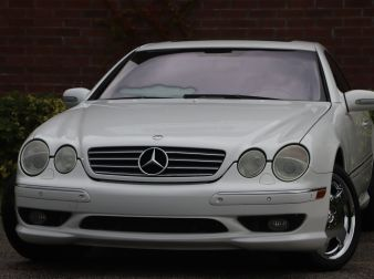2001 MERCEDES-BENZ CL600