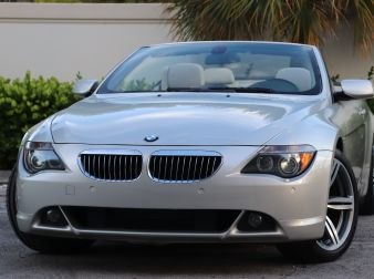 2005 BMW 645CI SPORT CONVERTIBLE