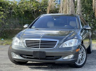 2007 MERCEDES S550 DESIGNO GRAPHITE LAUNCH EDITION