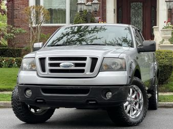 2008 FORD F-150 FX4 4WD SUPERCAB
