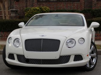 2012 BENTLEY CONTINETAL GTC W12 CONVERTIBLE