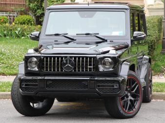 2016 MERCEDES G63 AMG DESIGNO CONVERTED TO NEW LOOK 2020