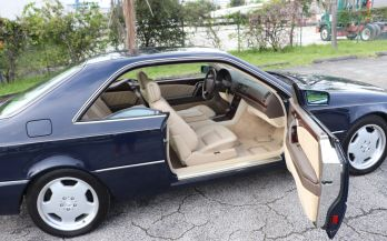 1996 MERCEDES S500 COUPE
