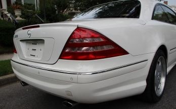 2002 MERCEDES CL600 SPORT AMG