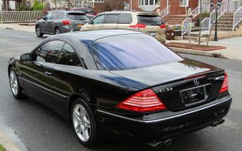 2003 MERCEDES CL55 AMG