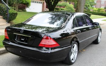 2003 MERCEDES S500 SPORT AMG