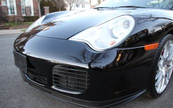 2004 PORSCHE 911 TURBO CABRIOLET 6SPEED