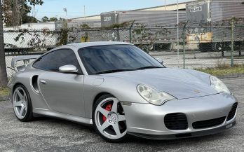 2004 PORSCHE 911 TURBO COUPE 6SPEED MANUAL