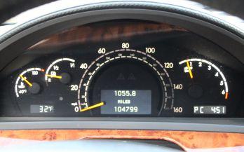 2005 MERCEDES S55 AMG DESIGNO