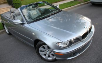 2006 BMW 325CI CONVERTIBLE