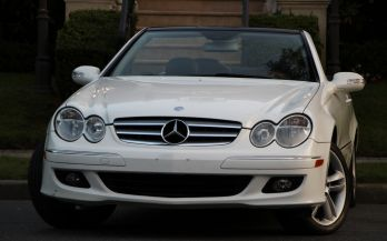 2006 MERCEDES CLK350 CONVERTIBLE