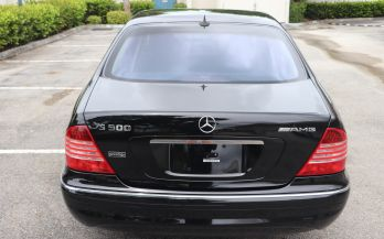 2006 MERCEDES S500 SPORT AMG