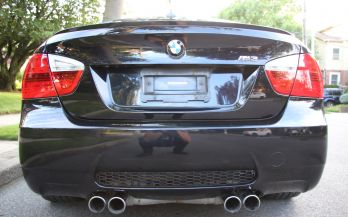 2008 BMW M3 6SPEED MANUAL SEDAN
