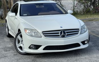 2008 MERCEDES CL550 SPORT AMG
