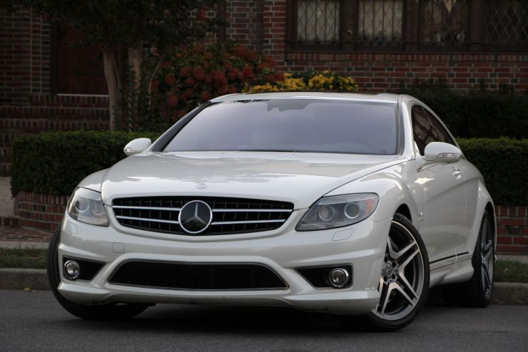 2008 MERCEDES CL65 AMG DESIGNO MYSTIC WHITE EDITION