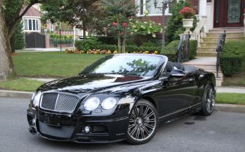 2010 BENTLEY CONTINENTAL GT SPEED CONVERTIBLE WALD EDITION