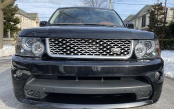 2011 RANGE ROVER SPORT SUPERCHARGED AUTOBIOGRAPHY