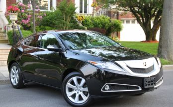 2012 ACURA ZDX TECHNOLOGY