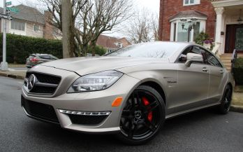 2012 MERCEDES CLS63 AMG LAUNCH EDITION
