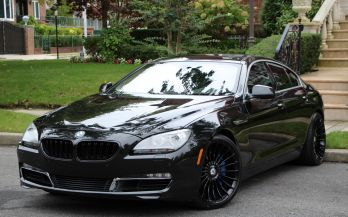 2013 BMW 650I GRAN COUPE