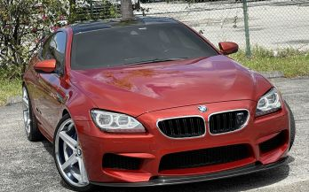 2013 BMW M6 DINAN STAGE II COUPE