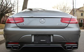 2015 MERCEDES S63 AMG COUPE AWD