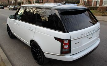 2017 RANGE ROVER AUTOBIOGRAPHY SUPERCHARGED