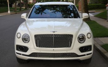2018 BENTLEY BENTAIGA ONYX EDITION